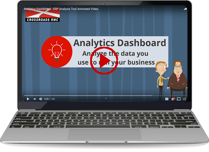 Analytics Dashboard Animated Video (1:42)